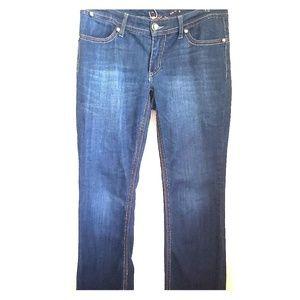 SEVEN 7 bootleg blue jeans size 10